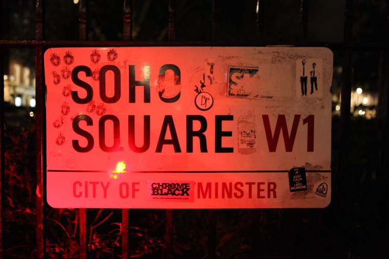 Soho Square, Soho, Save Soho, London, UK, Campaign, Madame Jojo's