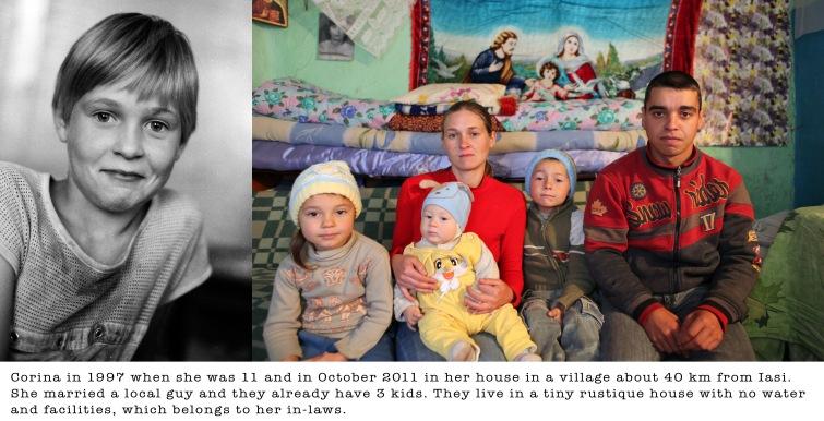 Corina, Ceausescu, orphans, Romania