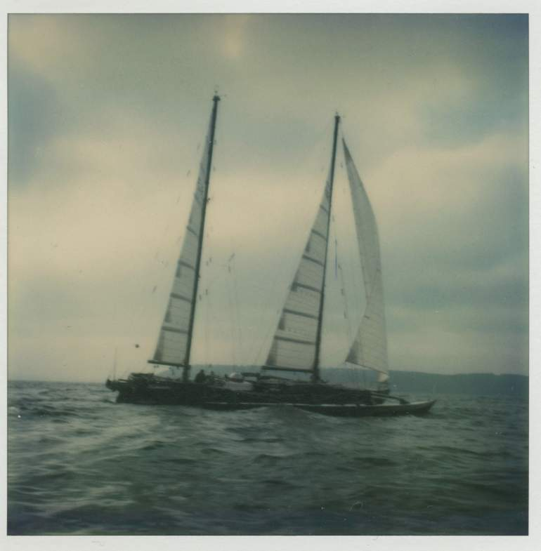 Manureva, boat, sailing, racing, Alain Colas, La Route du Rhum, sea, wreckage