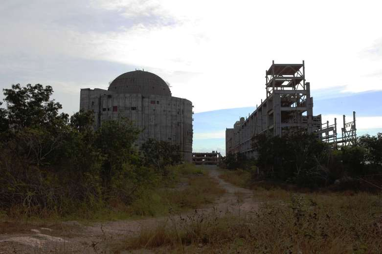 Ciudad Nuclear, Cienfuegos, Nuclear plant, power station, abandoned