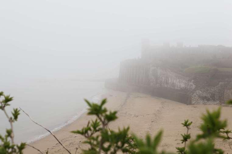 mist, castle