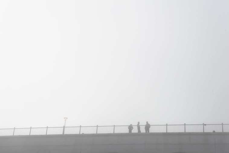 Ramsgate, mist