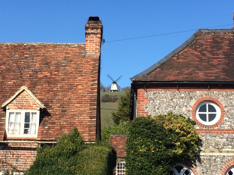 Turville, Chitty Chitty Bang Bang, mill, cottages