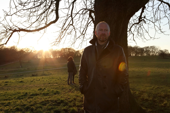 Colin Vearncombe, aka Black, in Hampstead Heath, London, in January 2012