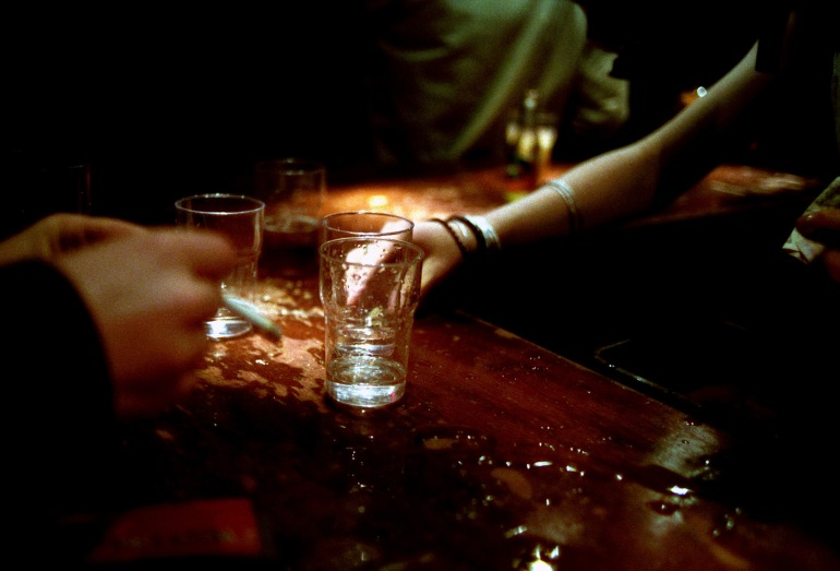 Girls, pubs and alcohol