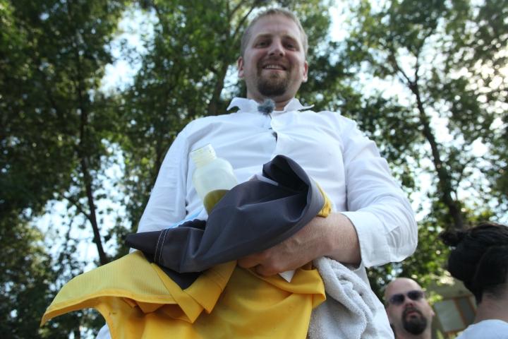 Liberland President Vit Jedlicka