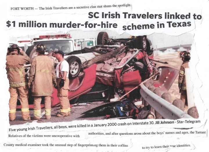 Elisabeth Blanchet, Texas, Irish Travellers, White Settlement, community, discrimination, scam