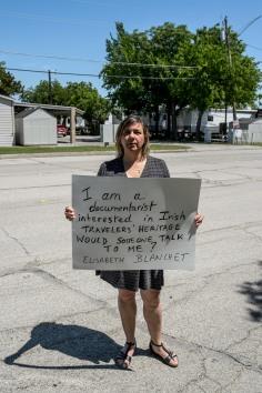 Irish Travelers - Pancarte - Fort Worth Dallas - USA